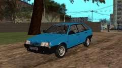 VAZ 2109 com rodas de liga