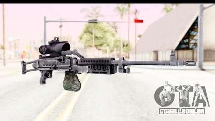 M240 FSK No Bipod para GTA San Andreas