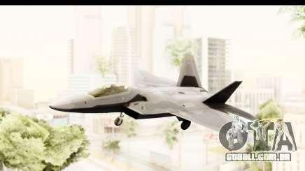 Lockheed Martin F-22 Raptor para GTA San Andreas