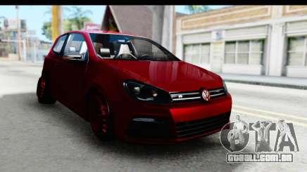Volkswagen Golf R para GTA San Andreas
