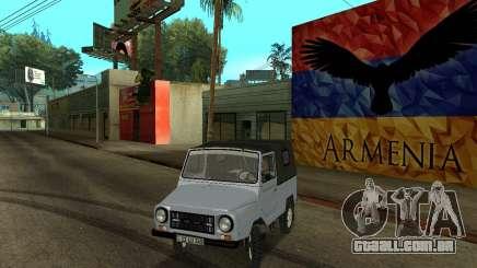 Luaz 969 Armenian para GTA San Andreas