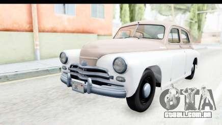 GÁS М20В Vitória 1955 SA Placa para GTA San Andreas