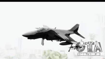 MGSV Phantom Pain Hydra v2 para GTA San Andreas