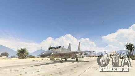 Su-30МКК HQ Chinês para GTA 5