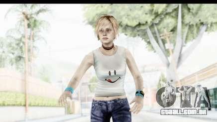 Silent Hill 3 - Heather Sporty White Delicious para GTA San Andreas
