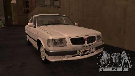 GAZ 3110 da série a Zona de exclusão de Chernobyl para GTA San Andreas