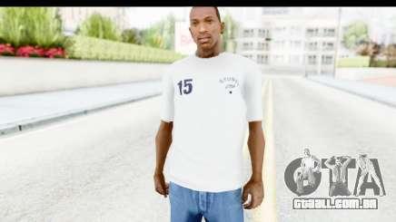 Stussy White T-Shirt para GTA San Andreas