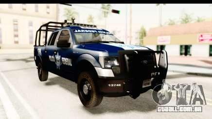 Ford F-150 Federal Police para GTA San Andreas