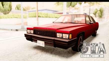 GTA 5 Albany Emperor IVF para GTA San Andreas