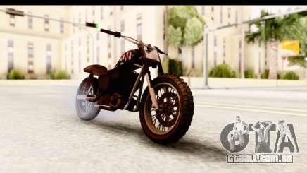 GTA 5 Western Cliffhanger Custom v2 para GTA San Andreas