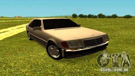 Mercedes Benz W140 para GTA San Andreas