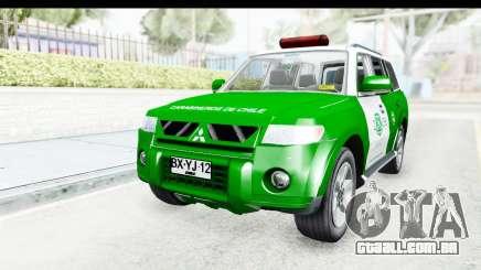 Mitsubishi Montero Carabineros Seção SIAT para GTA San Andreas