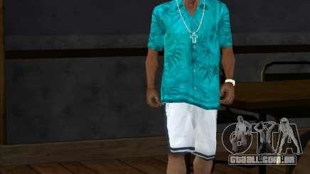 Camisa Tommy para GTA San Andreas