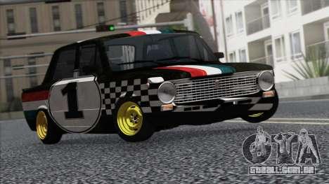 VAZ 2101 é um Carro de Corrida para GTA San Andreas