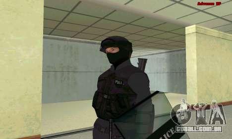 Pele SWAT GTA 5 para GTA San Andreas