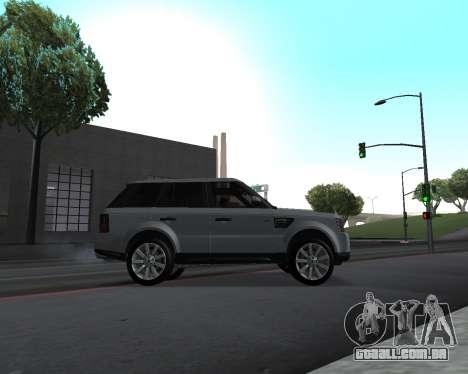 Range Rover Armenian para GTA San Andreas vista interior