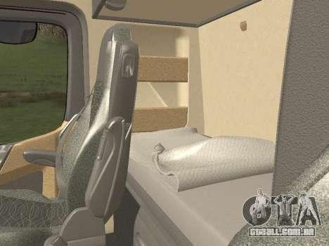Mercedes-Benz Actros Mp4 4x2 v2.0 Steamspace para GTA San Andreas vista superior
