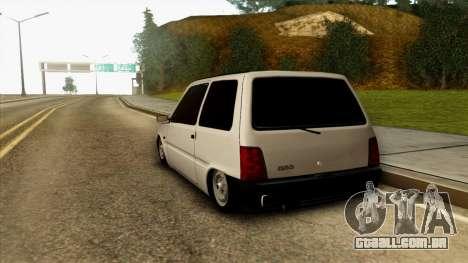VAZ 1111 para GTA San Andreas traseira esquerda vista