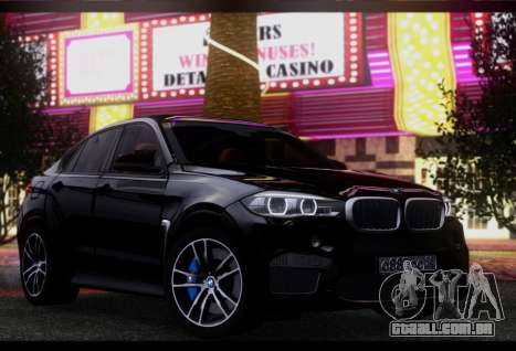 BMW X6M BULKIN SAMP EDITION para GTA San Andreas esquerda vista