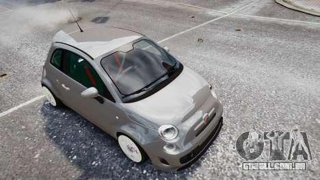 Fiat 500RB para GTA 4 vista direita