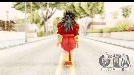 Dragon Ball Xenoverse Broly SSJ4 para GTA San Andreas terceira tela