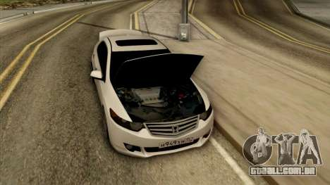 Honda Accord para GTA San Andreas vista traseira