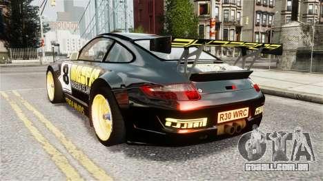 Porsche Rallye Vespas 911 GT3 RSR para GTA 4 esquerda vista