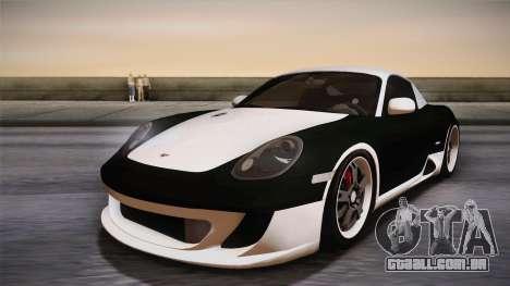 Ruf RK Coupe (987) 2007 HQLM para GTA San Andreas vista direita