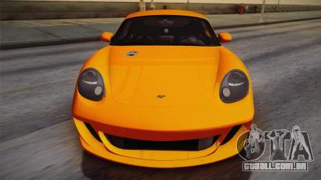 Ruf RK Coupe (987) 2007 IVF para vista lateral GTA San Andreas