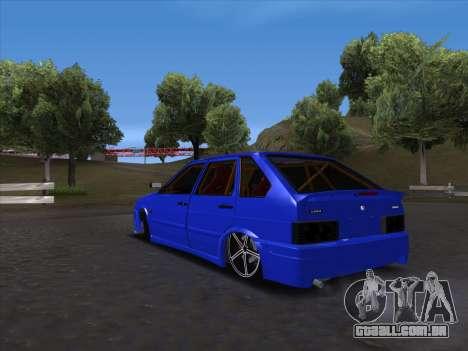 VAZ 2114 Sport para GTA San Andreas vista direita