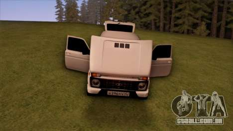 VAZ 2121 para vista lateral GTA San Andreas