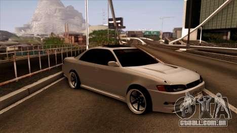 Toyota Mark 2 para GTA San Andreas esquerda vista
