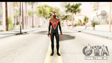 Marvel Heroes - Miles Morales para GTA San Andreas segunda tela