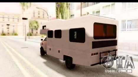 GTA 5 Camper para GTA San Andreas vista direita