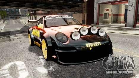 Porsche Rallye Vespas 911 GT3 RSR para GTA 4 vista direita