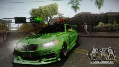 BMW M235i 69Works para vista lateral GTA San Andreas