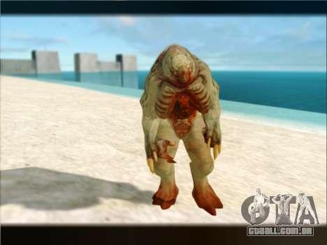 Berzerker from DOOM 3 para GTA San Andreas quinto tela