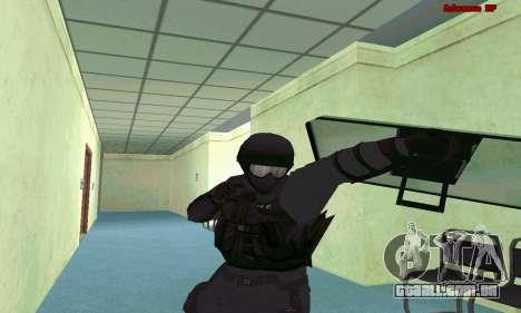 Pele SWAT GTA 5 (PS3) para GTA San Andreas