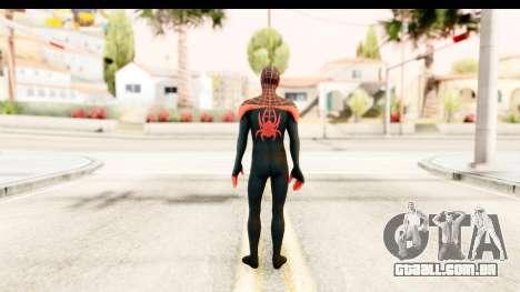 Marvel Heroes - Miles Morales para GTA San Andreas terceira tela