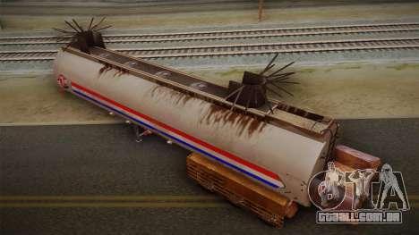 Mack R600 v2 Trailer para GTA San Andreas traseira esquerda vista