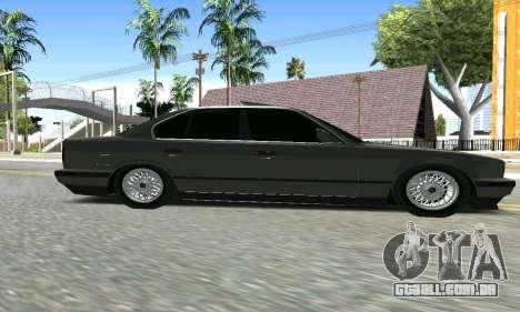BMW 535 para GTA San Andreas vista direita