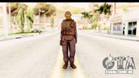 CS:GO - GIGN para GTA San Andreas segunda tela