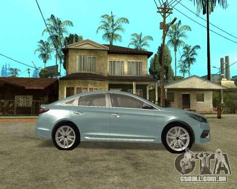Hyundai Sonata Armenian para GTA San Andreas esquerda vista
