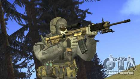 HK416A5 para GTA San Andreas