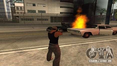 Cheetah Mod v1.1 para GTA San Andreas quinto tela