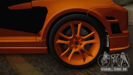Porsche Cayenne 2007 Tuning para GTA San Andreas traseira esquerda vista