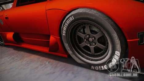 Onuk Sazan para GTA San Andreas traseira esquerda vista