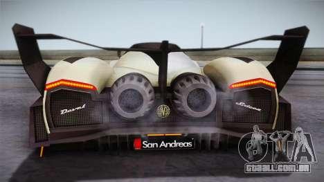 Devel Sixteen para GTA San Andreas vista direita