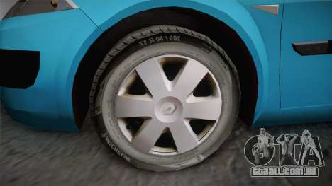 Renault Megane 2 Hatchback v2 para GTA San Andreas vista direita