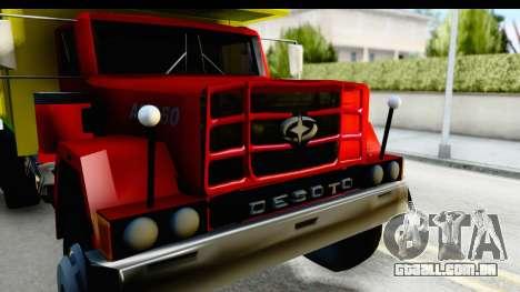 Desoto AS 950 para GTA San Andreas vista traseira